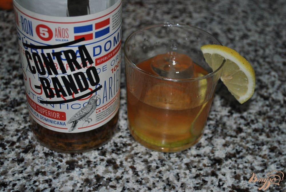 Фото приготовление рецепта: Ромовый коктейль