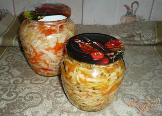 Рецепт Капустка с тмином маринованная