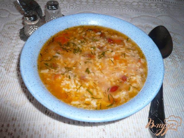 Рецепт Острый рисовый суп с фасолью