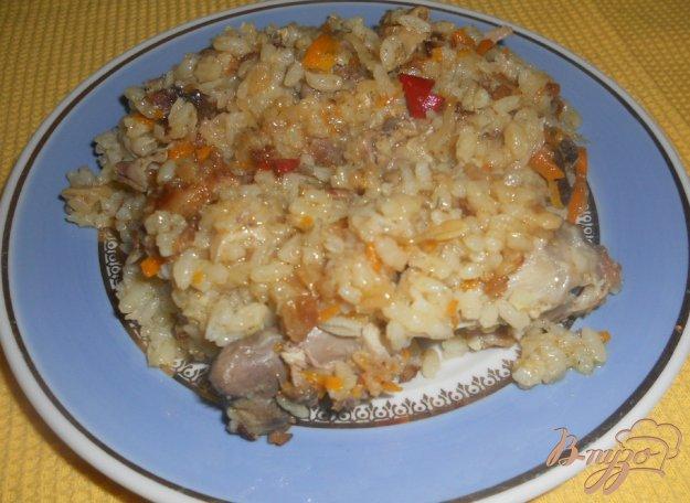 горячее рецепт с курицей в духовке