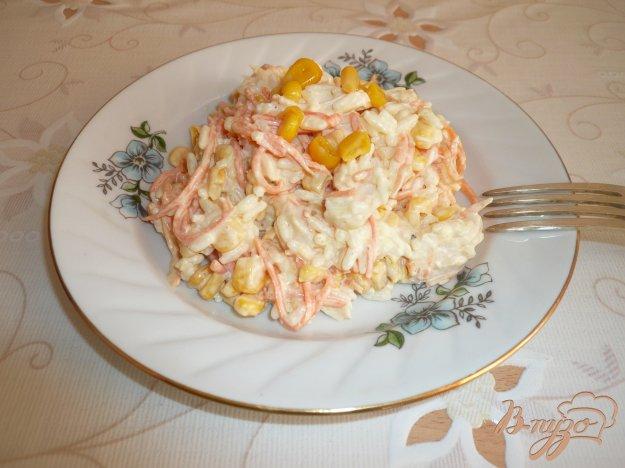 Рецепт Салат с рисом, курицей и морковью по-корейски