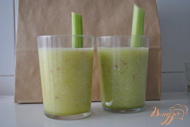 Рецепт Смузи с яблоком и ананасом