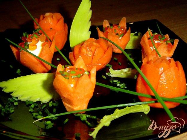 Рецепт Закуска морковно-икорная