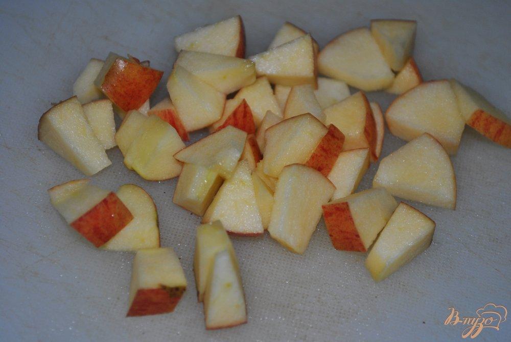 Фото приготовление рецепта: Фруктовый микс-салат шаг №3