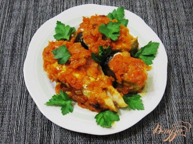 Рецепт Толстолобик с овощами