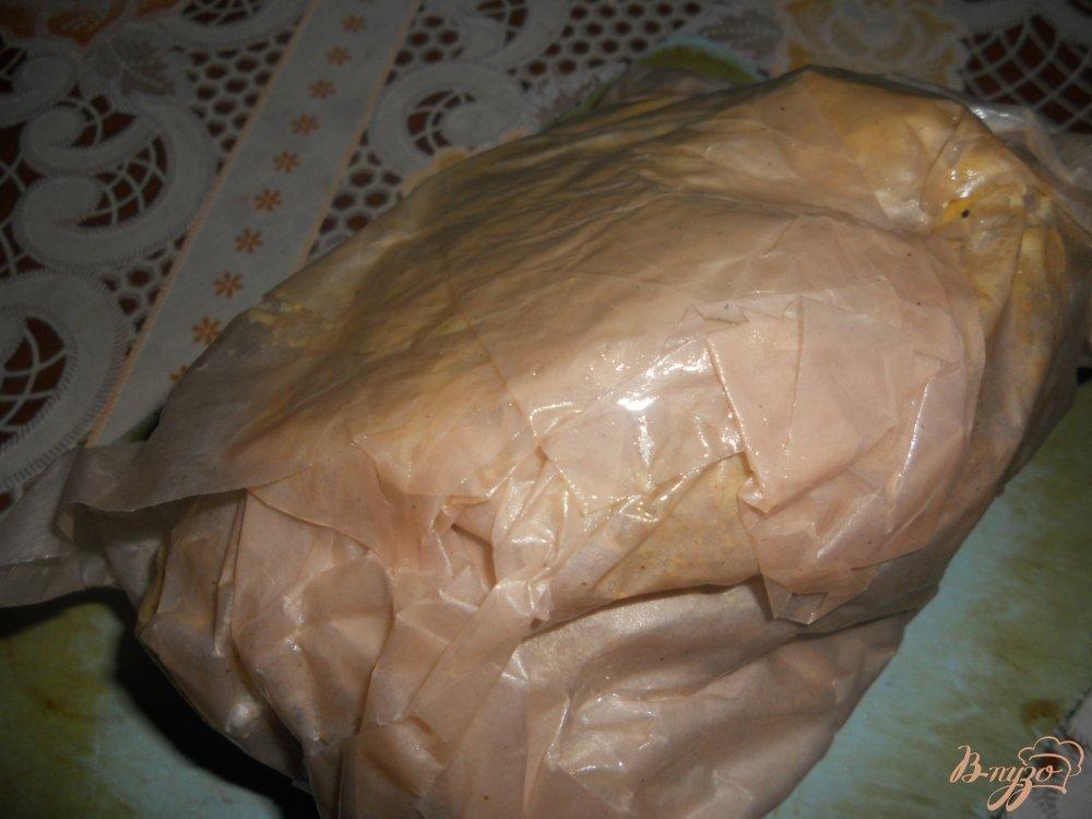 Фото приготовление рецепта: Рулька ароматная, с чесночком шаг №3