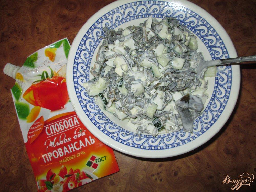 салат с морской капустой пошаговый рецепт