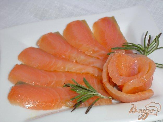 Рецепт Красная рыба соленая по домашнему