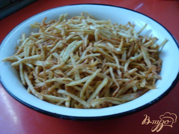фото рецепта: Картофель - соломка