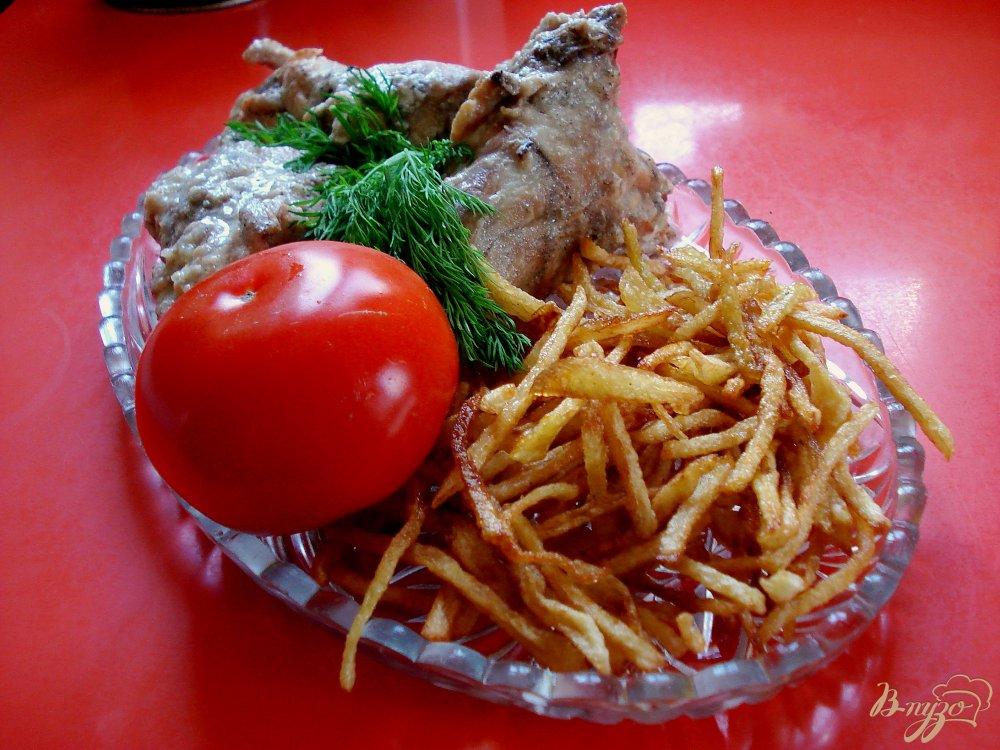 Фото приготовление рецепта: Картофель - соломка шаг №5