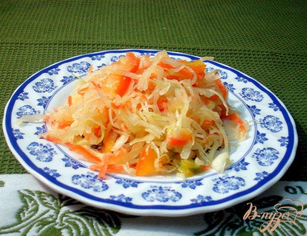 Рецепт Салат из капусты с перцем длительного хранения