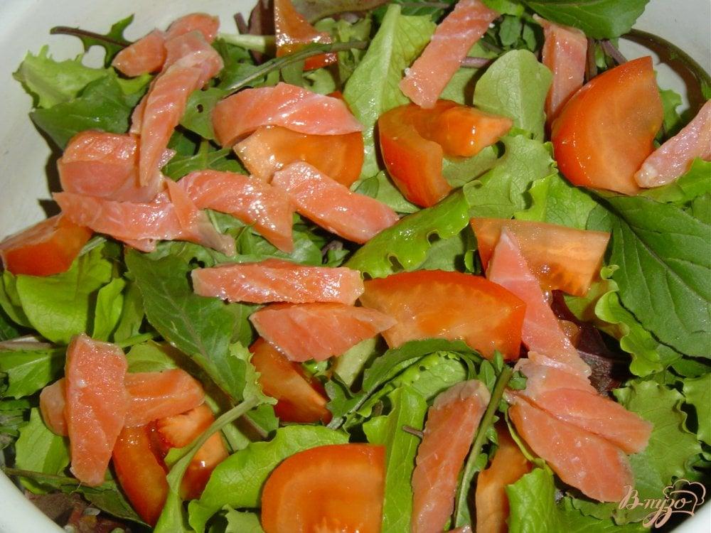 рецепты салатов с семгой слоеный