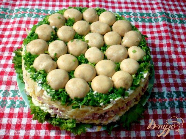 Рецепт Салат грибная поляна