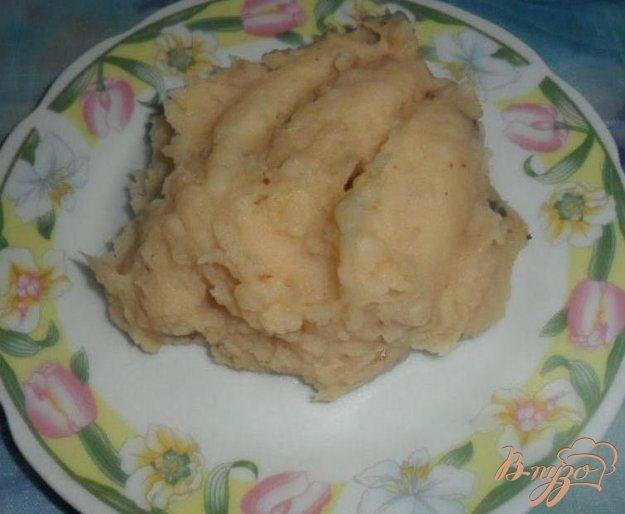 фото рецепта: Картофельное пюре с луком и мускатным орехом