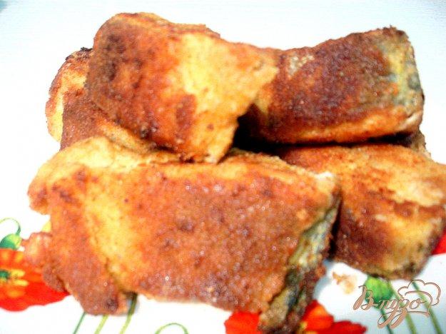 Рецепт Горбуша жареная в сухарной панировке