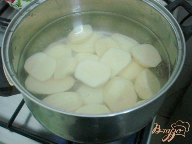 Вареники с картофелем, грибами и сыром