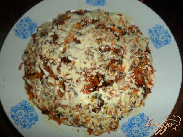 Салат с фасоли