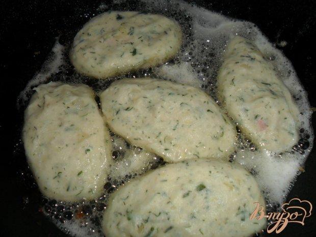 Картофельные порожки с колбасой