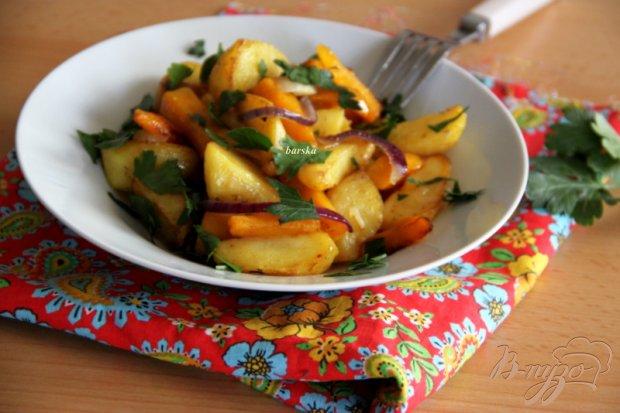 Картофельно-тыквенный гарнир