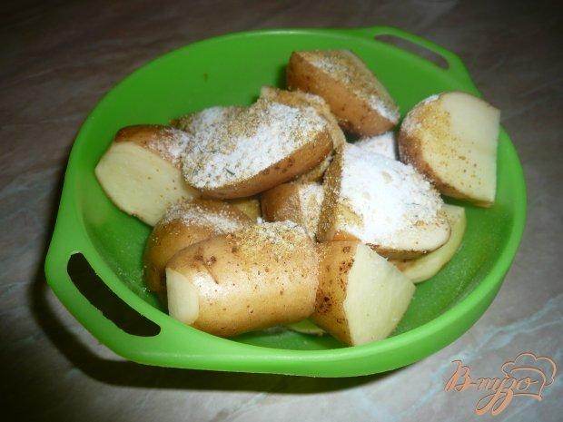 Картофель, запеченный в пакете