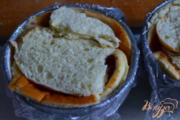 Пудинг со сдобной булочой