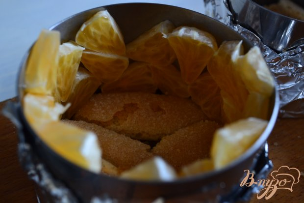 Тирамису с кусочками мандарина