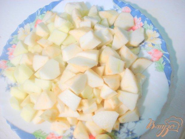 Слоёные конвертики с яблоками
