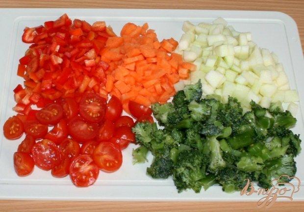 Овощные мини-киши в творожно-овсяных тарталетках
