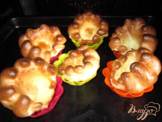 Блинные булочки с начинкой