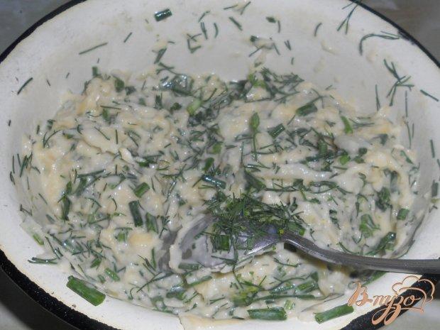 Кабачковые оладьи с зеленью
