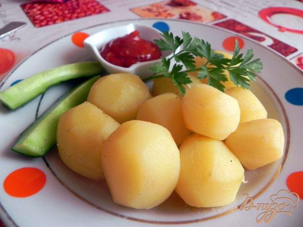 Отварной картофель со специями