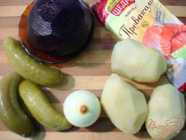 Свекольный деревенский салат