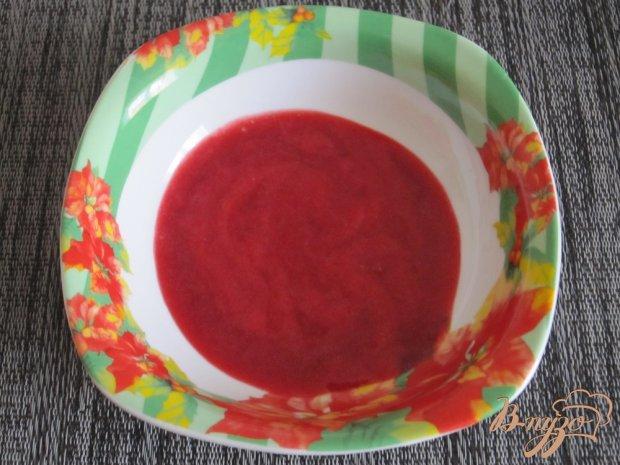 Тарталетки с ягодно-творожным кремом
