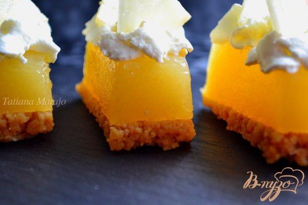 Ананасовые пирожные