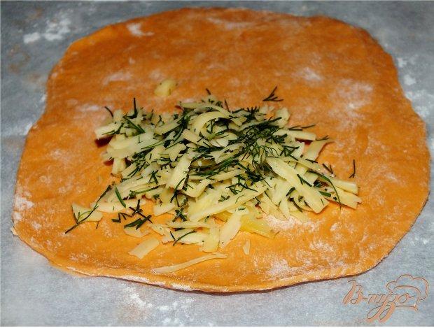 Томатные лепешки с сыром
