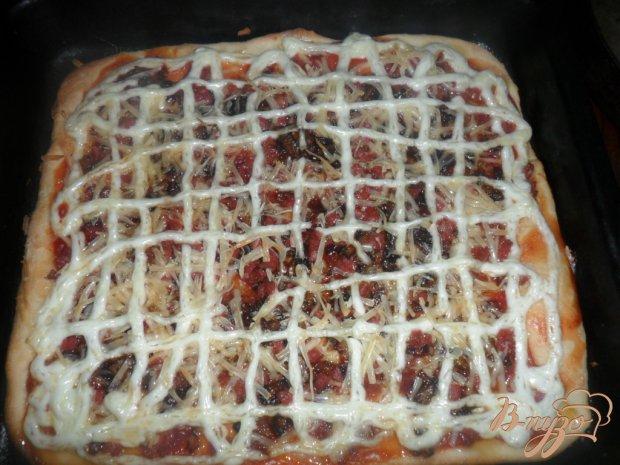 Пицца с салом