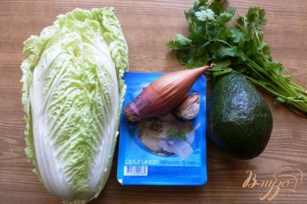 Тартар из сельди с авокадо