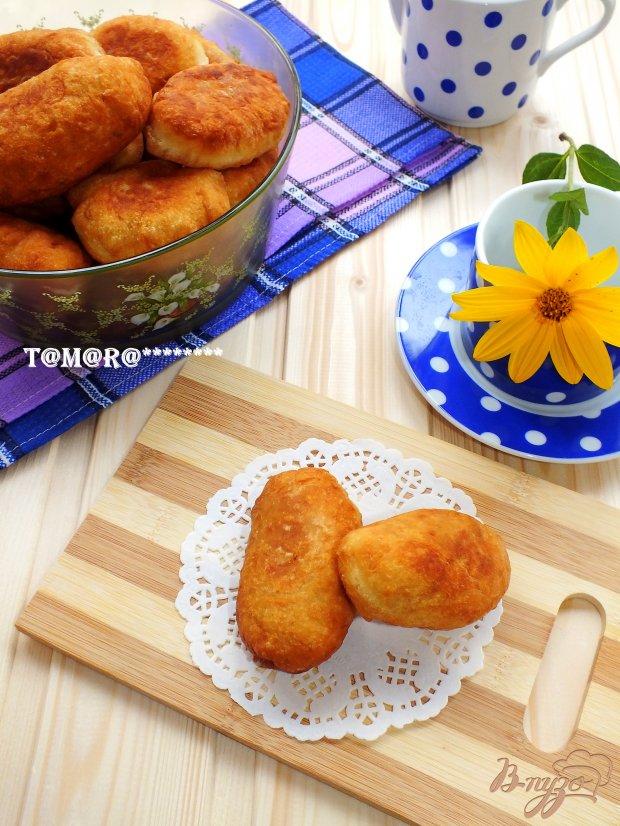 Пирожки на сметане с капустой