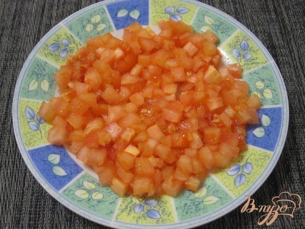 Котлеты с помидорами, рисом и кабачками