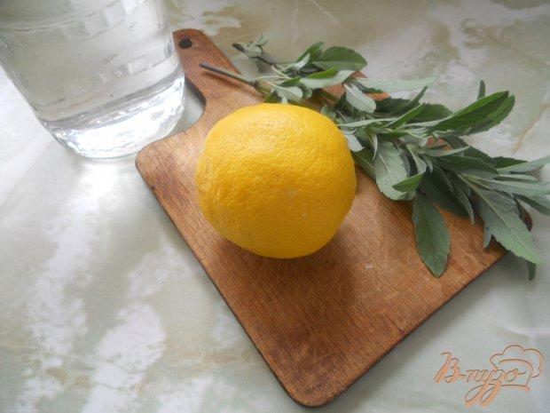 Освежающий напиток из эстрагона и лимона