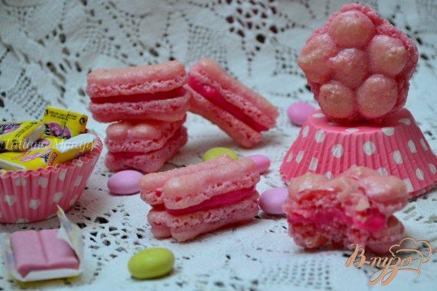 Печенье Макарон  со вкусом жевательной резинки