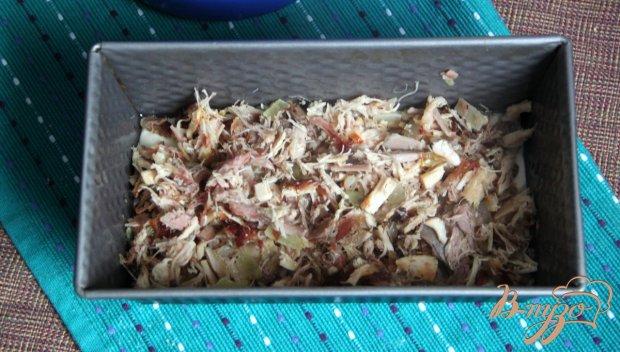 Заливной кекс с мясом