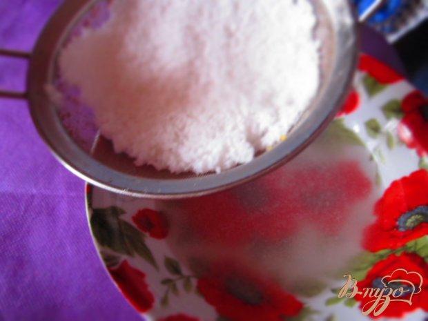 Манный кофейный пирог с кокосовым кремом