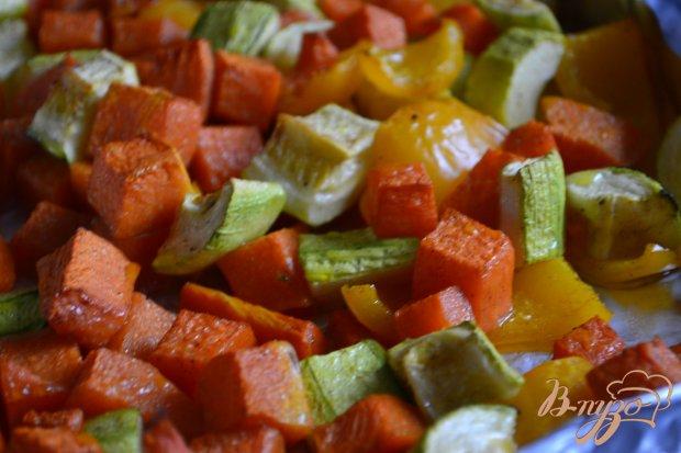 Суп-пюре из печеных овощей с булгуром
