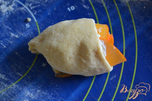 Пирог с рикоттой и хурмой