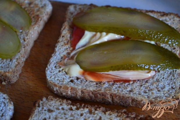 Сендвич с хрустящим куриным мясом