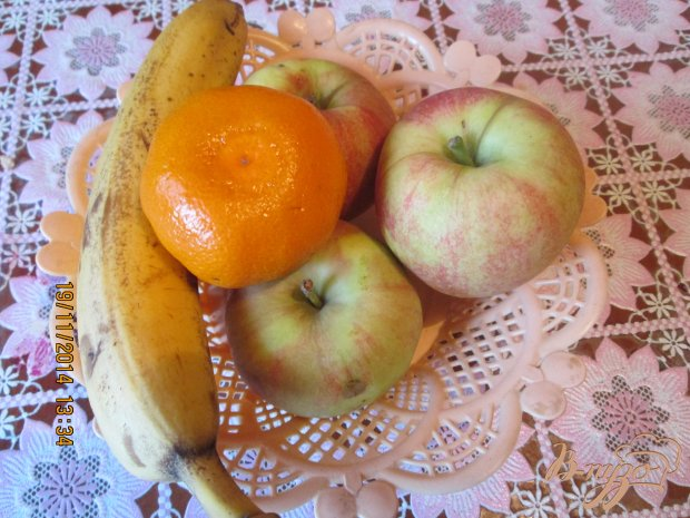 Печеные яблока с медом