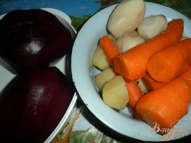 Салат овощной без майонеза