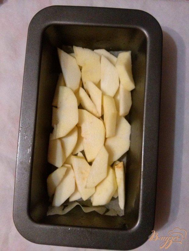 Кекс с яблоками и апельсиновой цедрой