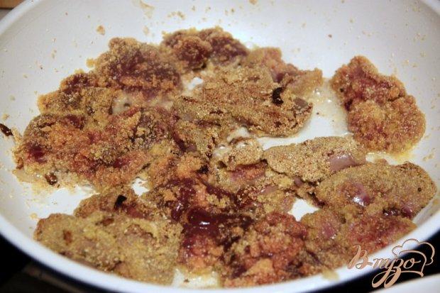 Печень жареная в маринаде